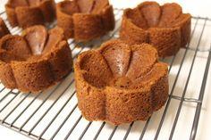 Mini pumpkin bundt cakes for sundaes
