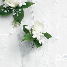 White Corsage BW421 Wedding Flowers Phoenix Phoenix Weddings