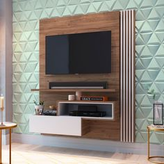 √How To Create Living Room With TV Wall Mount Decor Ideas - ideasfyou Tv Unit Interior Design, Tv Unit Furniture Design, Room Interior, Tv Cabinet Design, Tv Wall Design, Small Tv Cabinet, Small Tv Unit, Tv Wanddekor, Lcd Panel Design