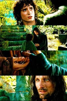 When Aragorn refuses the Ring
