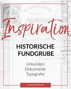 Eine außergewöhnliche Sammlung alter und historischer Dokumente und Urkunden des letzten Jahrhunderts. Feinste Federhandschriften als Inspirationsquelle für Kreative und Designer.