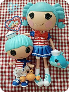Sailor boy Matey Anchors is Marina's little brother... ahoy! #Lalaloopsy