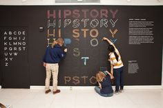 Mutable Typography Exhibition Installation