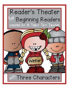 Reader's Theater for Beginning Readers with 3 Characters! {Winter Edition}