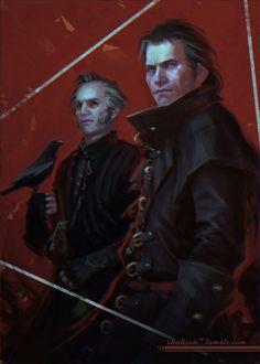 Witcher 3: Wild Hunt - Blood and Wine (Emil Regis, Dettlaff van der Eretein)