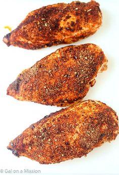Baked Cajun Chicken Breasts Recipe - The juiciest baked chicken breasts ever! If you love cajun chicken pasta, you are going to LOVE these chicken breasts! Everyone loves chicken recipes, we do!