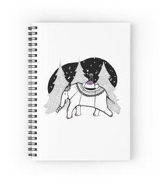 """Far escape"" Spiral Notebooks by ptitsa-tsatsa | Redbubble"