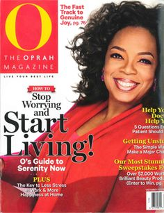 O Magazine - October 2013, features young breast cancer survivor Stacy Leaung talking about YSC, being diagnosed young and riding Tour de Pink http://www.youngsurvival.org/blog/wp-content/uploads/2013/09/O-Magazine-10.2013.pdf