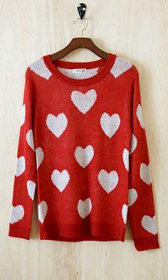 Lovable Swetheart Sweater
