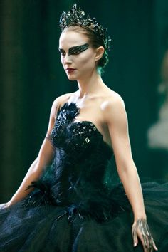My costume! Someone, have a Halloween party. Black Swan. by lorraine