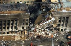 The damaged Pentagon was quickly evacuated in a fashion that witnesses said was extraordinarily orderly and calm. But the image of a brutal gash torn in the headquarters of the world's most powerful military left many stunned. Firefighters fought all night on Sept. 11, 2001, to put the remaining fires out.