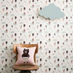Ingela did a good job - wall paper ferm living