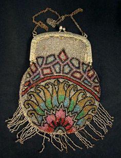victorial beaded bag