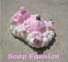 Scrubby Dubby Pig Glycerin Hand Soap by SoapPassion on Etsy, $6.00