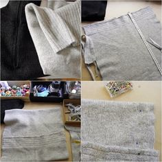anunkblog: #DIY #upcycled #cushions #pillows  polštáře ze starých svetrů