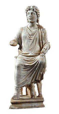 Cristo docente IV secolo d.C. marmo a tutto tondo Roma , Palazzo Massimo
