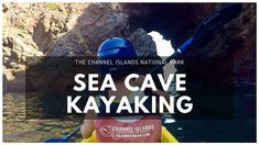 Channel Island National Park: Santa Cruz Island Sea Cave Kayaking! Caves In California, California Destinations, Santa Cruz Island, Channel Islands National Park, Sea Cave, Snorkeling, Kayaking, National Parks, The Incredibles