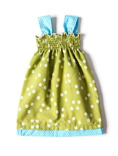 Vintage fabric Baby Dress by LittleBinks on Etsy, £12.00