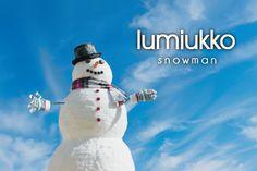lumiukko ~ snowman