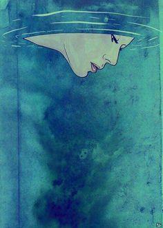 """I was in a place where nobody knew my heart even a little bit."" —Carol Rifka Brunt #ToBeVulnerablyHonest  artwork by Giuseppe Cristiano... via: The Artidote/fb"