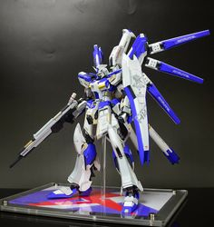 [W+r] Hi-Nu Gundam Fit Evolve - Painted Build Modeled by tbywh225