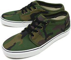 Vans 106 Camouflage Pack • Highsnobiety