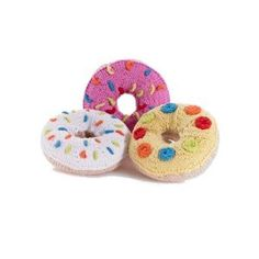 Donut Knitted Baby Rattles – Wild Dill