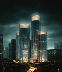 #Chongqing Business Center Proposal #United Design Group