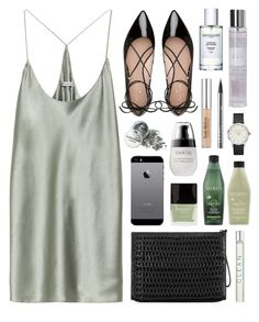 """""""Clean green"""" by sophiehackett ❤ liked on Polyvore featuring T By Alexander Wang, Bottletop, Butter London, Redken, CLEAN, LORAC, Trish McEvoy, Laura Ashley and Kate Spade"""