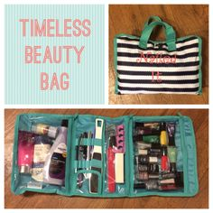 Thirty-One Timeless Beauty Bag for nail stuff! Mythirtyone.com/lflores88