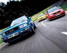 Audi Avant Garde (RS2 + RS4 + RS6)