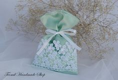 Check out this item in my Etsy shop https://www.etsy.com/listing/265685163/mint-wedding-favor-bags-rustic-gift-bag