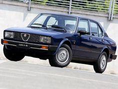 Alfa Romeo Alfetta 2.4 TurboD