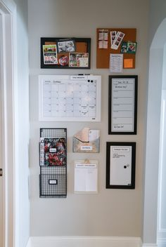 How to increase organization by building a quick and inexpensive command center.