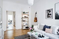 Scandinavian Apartment With a Very Friendly Design