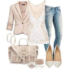 in love with the purse and blazer!!