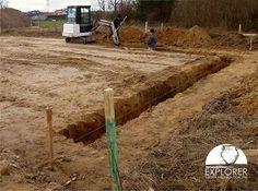 Badania archeologiczne związane z budową domu jednorodzinnego
