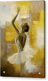Ballerina  Acrylic Print by Corporate Art Task Force