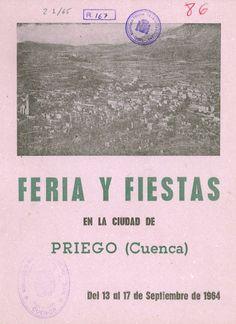 Fiestas en Priego (Cuenca) en honor al Cristo de la Caridad del 13 al 17 de septiembre de 1964 Romería al Convento de San Miguel de las Victorias #Fiestaspopulares #Priego #Cuenca
