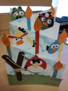 angry birds from Julie Grabowska
