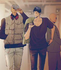 埋め込み Kuroko No Basket, Anime Figures, Anime Characters, Kiseki No Sedai, L Anime, Twitter Profile Picture, Kuroko's Basketball, Photos, Pictures