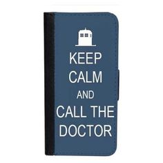 CellPowerCasesTM Keep Calm Call Doctor iPhone 6 (4.7) Bi-fold Black... ($16) ❤ liked on Polyvore featuring accessories, tech accessories, black, black iphone case, iphone cover case, apple iphone cases, iphone 5 cover case and pattern iphone case