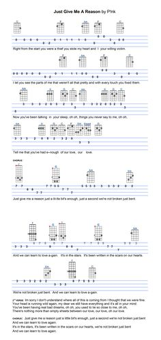 1000+ images about Ukulele Tabs on Pinterest | I Shot The Sheriff ...