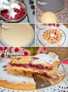Cherry Pie Rezept, wie man – My Tartessales Recipe Sites, Pie Recipes, Mousse Au Chocolat Torte, Turkish Kitchen, Best Pie, Fudge, Biscuits, Cheesecake, Food And Drink