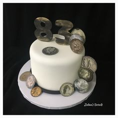 Coin Colector Cake Custom Cakes, Eat, Personalised Cakes, Personalized Cakes