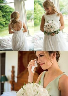 Glencorse wedding hairstyles