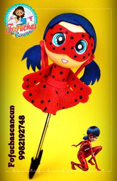 Pen Art, Clay Crafts, Pikachu, Gifts, Fictional Characters, Lady Bug, Penne, Miraculous, Ideas