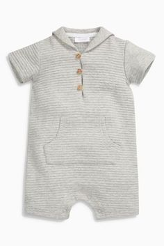 Buy Grey Romper (0mths-2yrs) online today at Next: United States of America