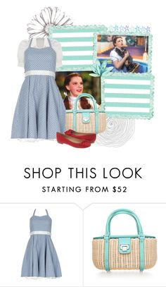 """""""The Wizard of Oz - Dorothy"""" by babybun ❤ liked on Polyvore featuring Izabel London, Tiffany & Co. and Kate Spade"""