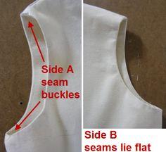 Une meilleure façon de coudre des doublures et des parements. Comment se lignés ou face bras et du cou trous à plat.